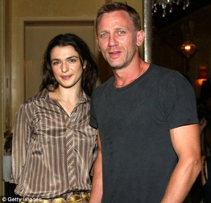 Rachel and Daniel Craig wedding