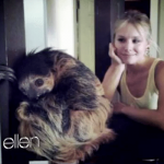 Kristen Bell breaks down meeting a sloth