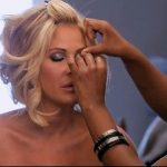 Kim Zolcaik poses topless in just body paint for fiancé Kroy Biermann