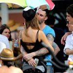Adam Levine spotted kissing ex girlfriends friend