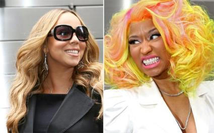 Mariah Carey Nicki Minaj fight