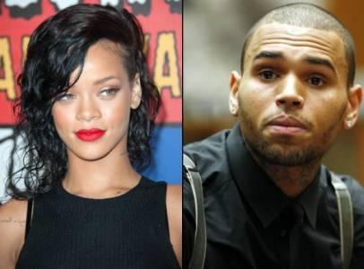 chris brown denies dating rihanna