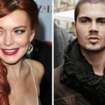 Lindsay Lohan partying with Max George of The Wanted