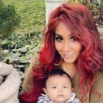 Snooki and fiancé baptize their son