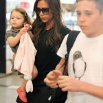 Victoria Beckham's daughter Harper in the mood for fashion