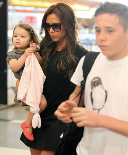 Victoria Beckham S Daughter Harper In The Mood For Fashion Hollywood Faq