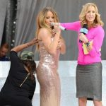 Mariah Carey suffers wardrobe malfunction on Good Morning America
