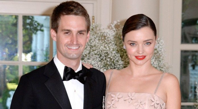 Evan Spiegel Miranda Kerr Engaged Marriage