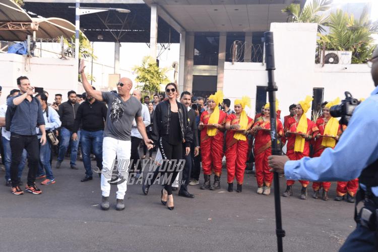 Vin Diesel and Deepika Padukone promote XXX: Return Of Xander Cage in Mumbai's Palladium