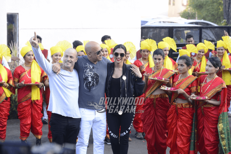 Vin Diesel and Deepika Padukone promote XXX: Return Of Xander Cage in Mumbai's Palladium