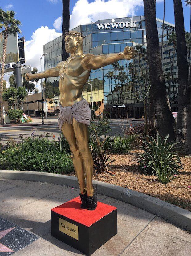 kanye-west-false-idol-statue-plastic-jesus