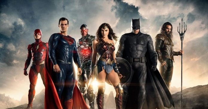 Justice League first poster