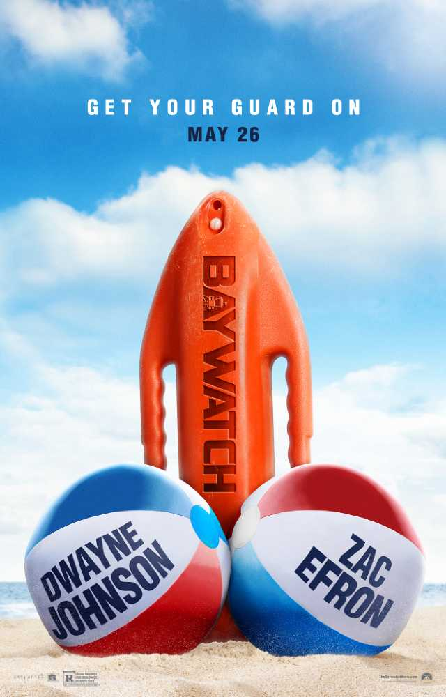 Baywatch 2017 movie poster