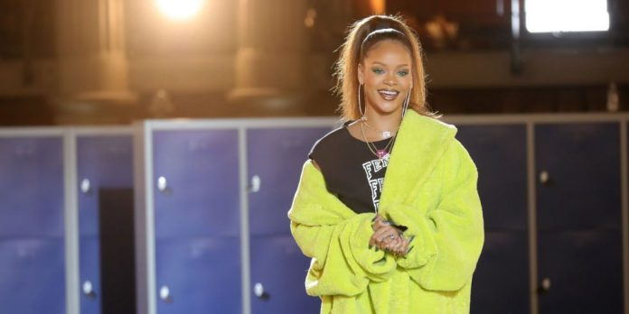 Rihanna at Fenty x Puma Fall '17 Paris Fashion Week