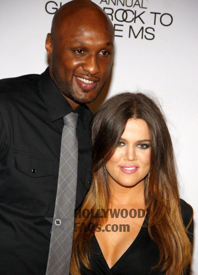 Lamar Odom and Khloé Kardashian