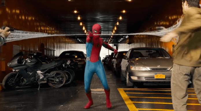 Spider-Man Homecoming movie still