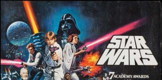 Star Wars A New Hope Vintage Poster