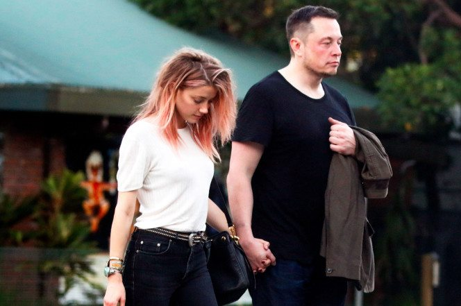 Amber Heard and Elon Musk in Australia