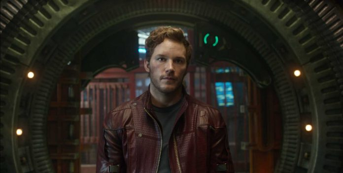 Chris Pratt Star-Lord Guardians Of The Galaxy