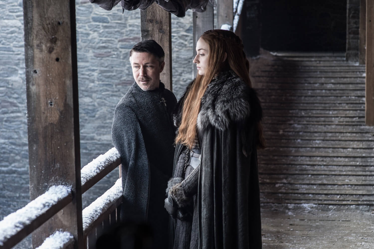 Littlefinger and Sansa Stark Game Of Thrones Season 7
