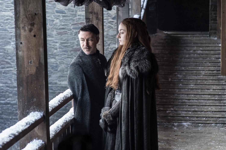 Littlefinger and Sansa Stark Game Of Thrones Season 7