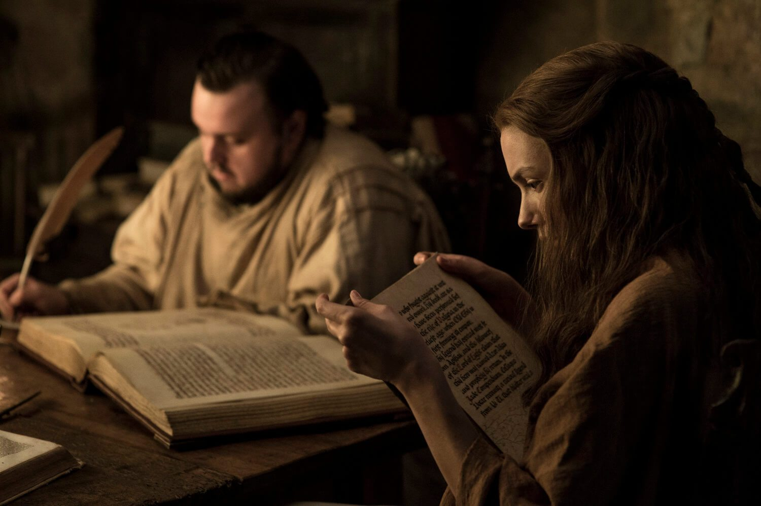 Samwell Tarly and Hannah Game Of Thrones Season 7