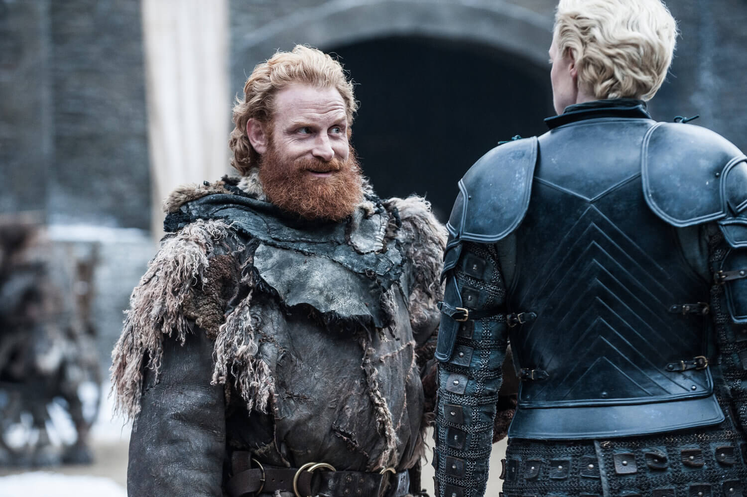 Tormund and Brienne Of Tarth Game Of Thrones Season 7