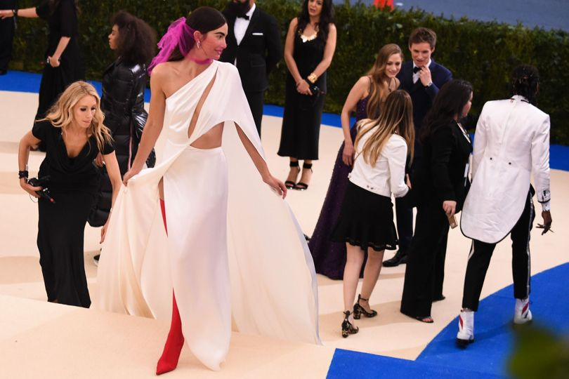 Lily Aldridge Met Gala 2017