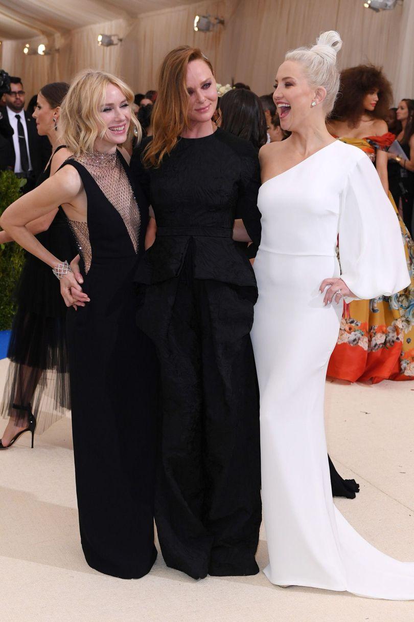 Naomi Watts Stella McCartney Kate Hudson Met Gala 2017