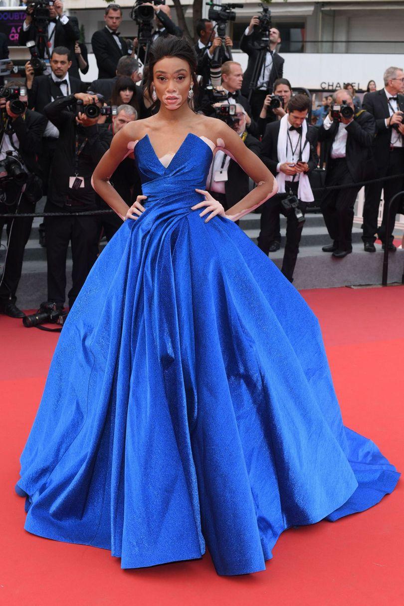 Winnie Harlow Cannes Film Festival 2017