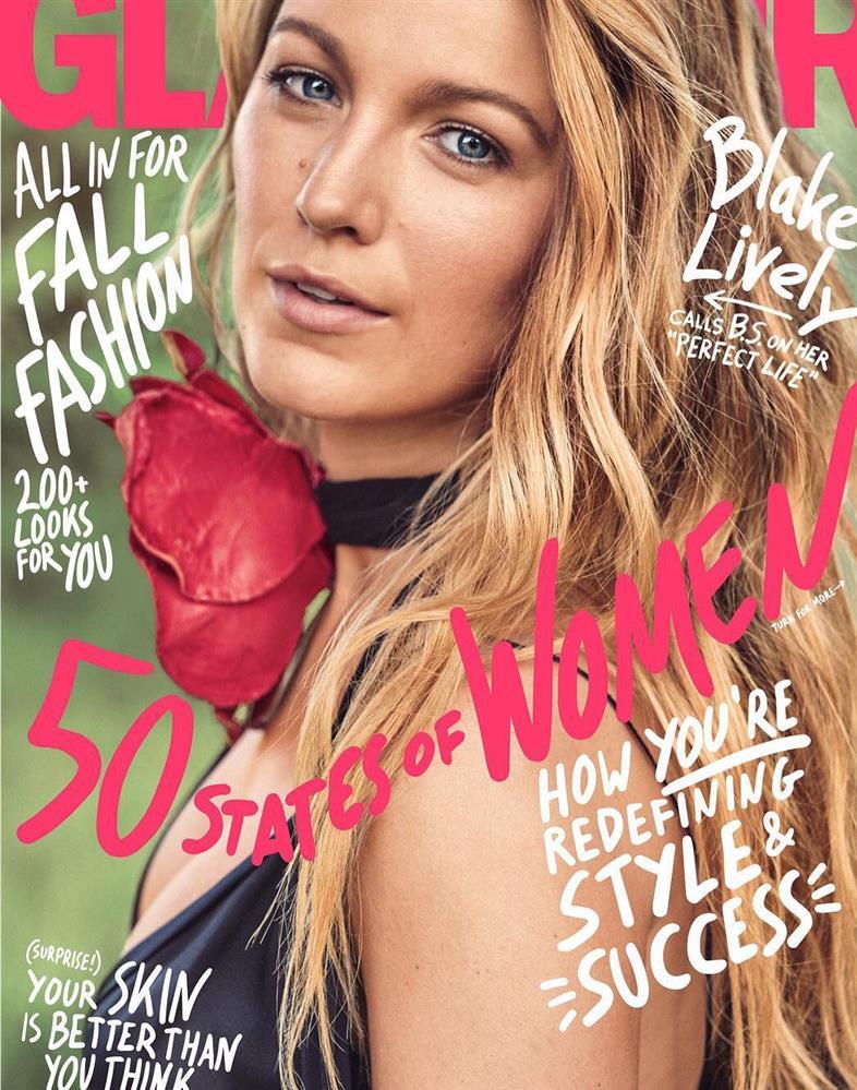 Glamour Magazine Blake Lively