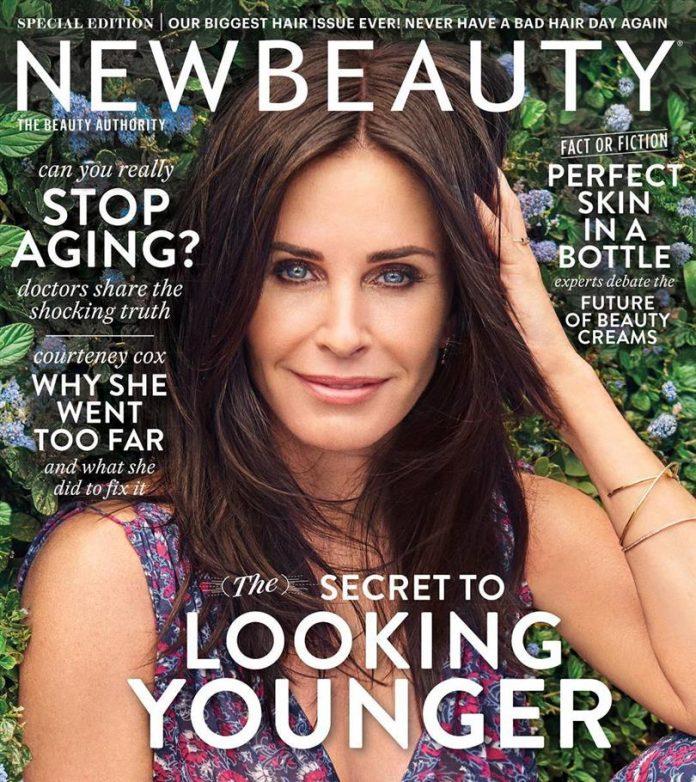 Courteney Cox New Beauty