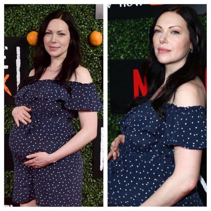 Laura Prepon pregnant