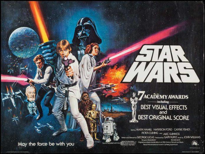 Star Wars A New Hope Vintage Poster