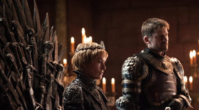 Cersei and Jamie Lannister Game Of Thrones Season 7